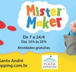 OFICINA DE PÁSCOA DO MISTER MAKER no Grand Plaza Shopping