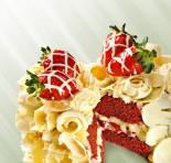 Amor aos Pedaços cria bolo especial para os namorados!