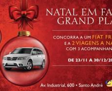 Promoção Natal em família Grand Plaza – Concorra a um Fiat Freemont e mais duas viagens!