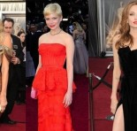 Os looks do Oscar 2012