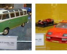 Exposição de Miniaturas de carros antigos