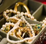 Conservando as suas jóias