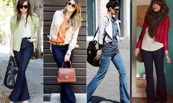 4 looks incríveis com calça flare