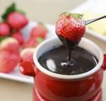 Frio + fondue = tudo de bom!