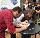 Tarde de autógrafos com Manual do Mundo no Grand Plaza!