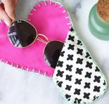 DIY: Capa protetora para óculos de sol