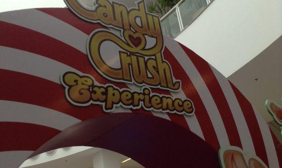 Conheça o evento Candy Crush Experience nas férias do Grand Plaza Shopping